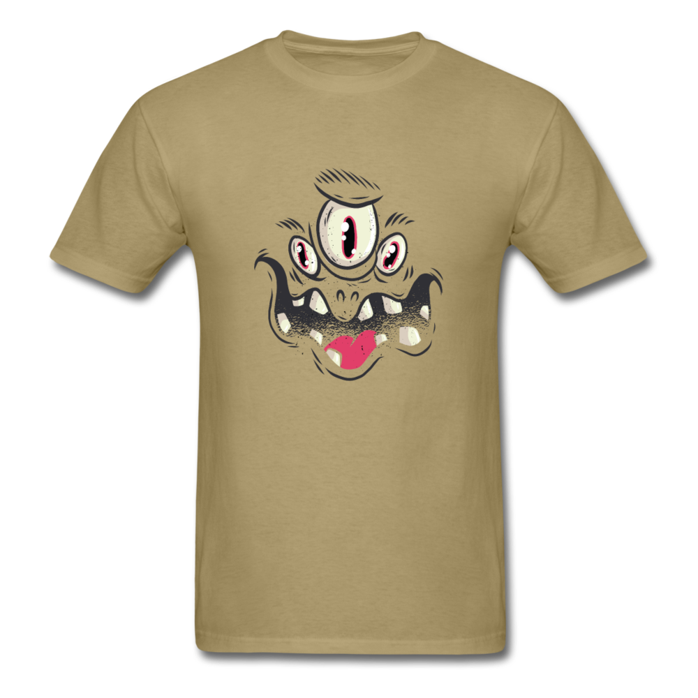Funny Monster Face | Men's T-Shirt-Men's T-Shirt-get2shirts
