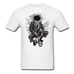 Bike to the moon | Men's T-Shirt-Men's T-Shirt-get2shirts