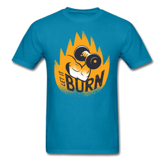 Fitness Gym | let it burn | Men's T-Shirt-Men's T-Shirt-get2shirts