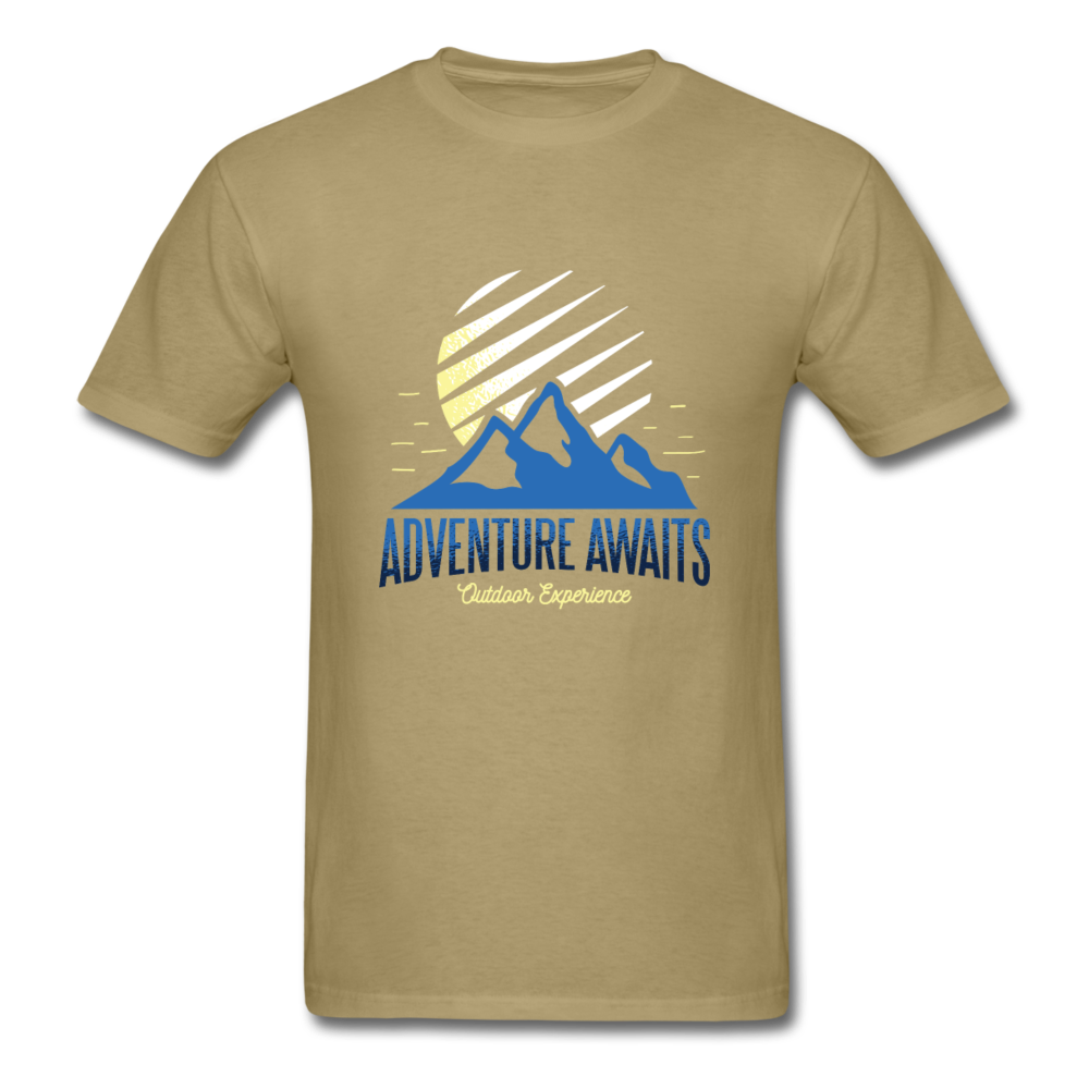 Mountain Love - adventure awaits | Men's T-Shirt-Men's T-Shirt-get2shirts