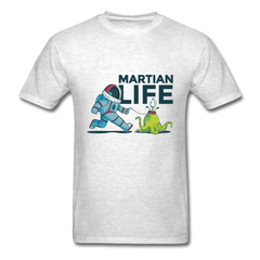 Live on mars | gassi go with alien pet | Men's T-Shirt-Men's T-Shirt-get2shirts