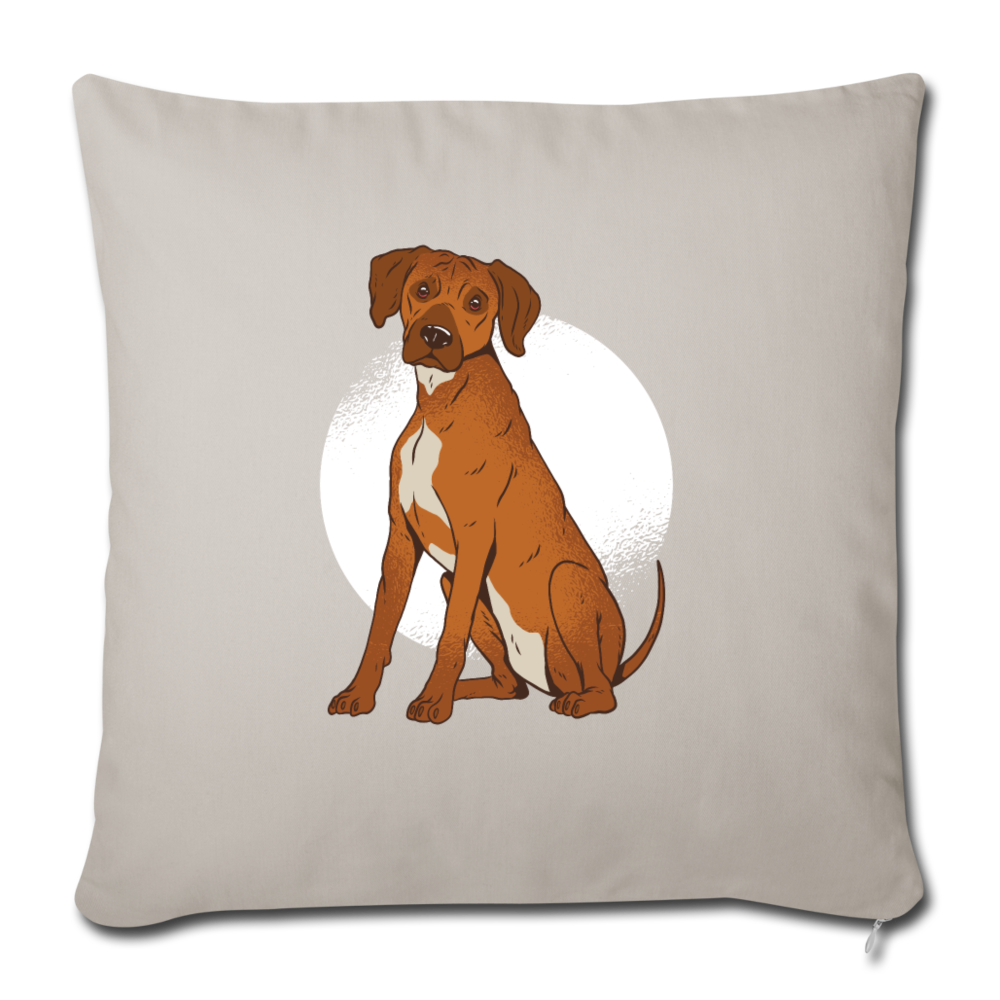 "Pillow | Rhodesian Ridgeback dog-Throw Pillow Cover 18"" x 18""-get2shirts"