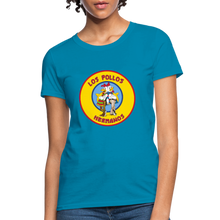 Load image into Gallery viewer, T-Shirt | Los Pollos Hermanos - turquoise