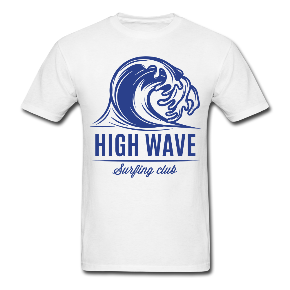Surf High Wave | Men's T-Shirt - get2shirts