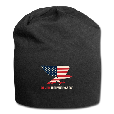 4th JULY USA | Jersey Beanie - black