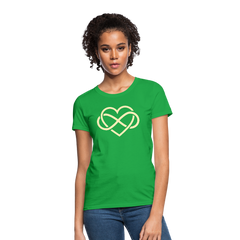 T-Shirt | Eternal love heart-Women's T-Shirt-get2shirts