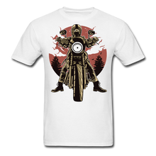 Load image into Gallery viewer, T-Shirt | Motorcycle born to ride - white