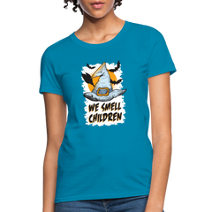 T-Shirt | Witch We Smell Children-Women's T-Shirt-get2shirts