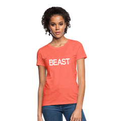 Beast Women Top T-Shirt-Women's T-Shirt-get2shirts