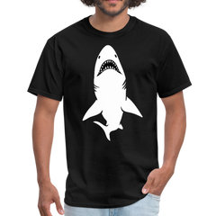 white shark | Men's T-Shirt-Men's T-Shirt-get2shirts