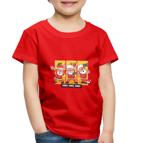 Santa Dancing | Toddler Premium T-Shirt - red