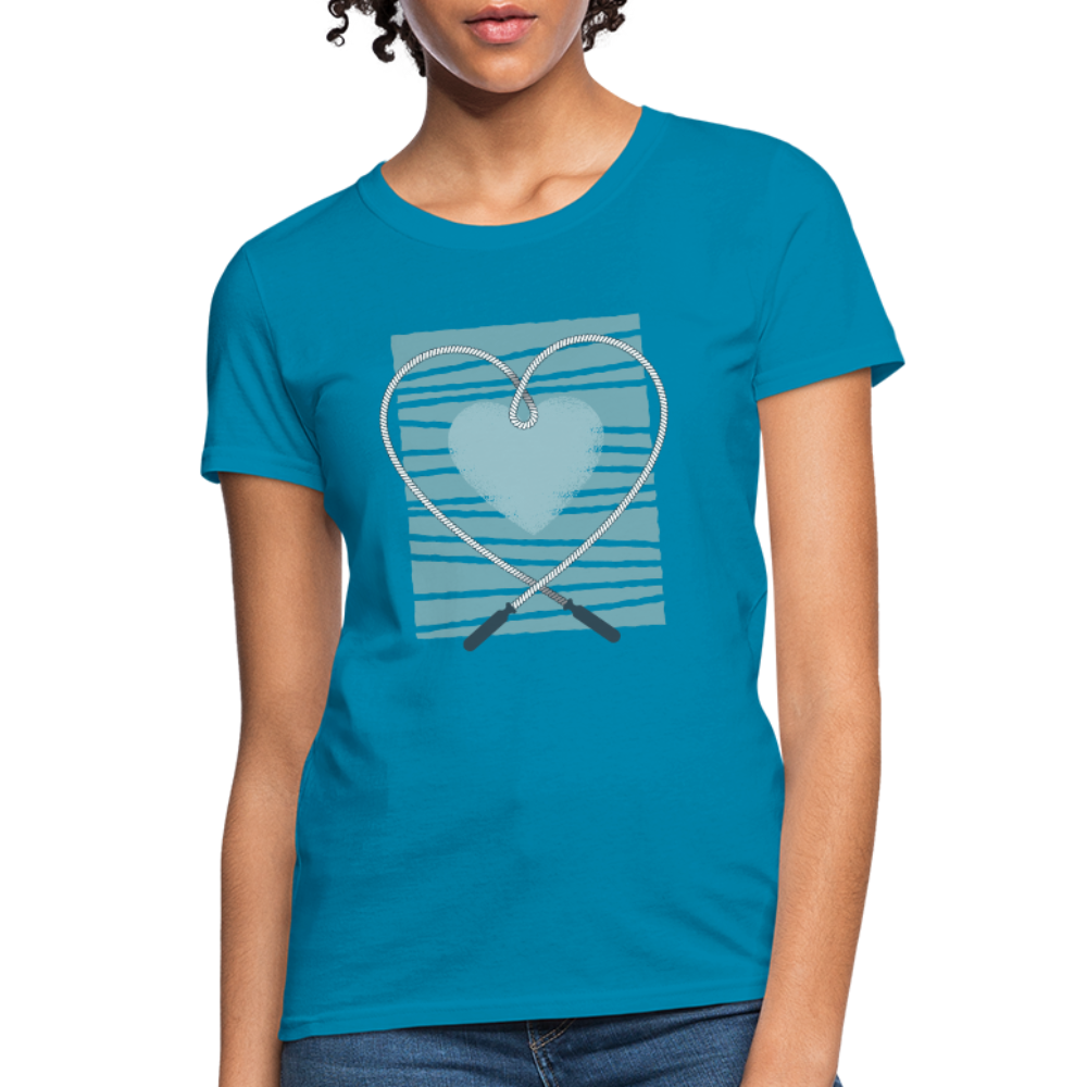 T-Shirt | Rope Love -Women's T-Shirt-get2shirts