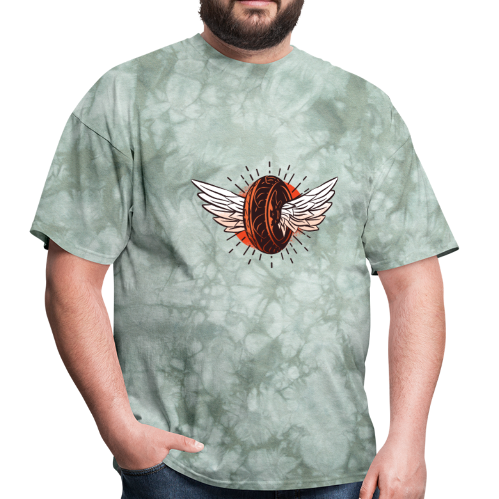 Tire Wings | Men's T-Shirt-Men's T-Shirt-get2shirts