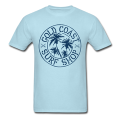 Gold Coast Surf Shop - Malibu | Men's T-Shirt-Men's T-Shirt-get2shirts