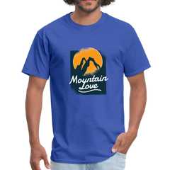 Mountain love | Men's T-Shirt-Men's T-Shirt-get2shirts