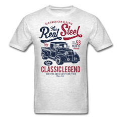 Real steel - old american classic cars | Men's T-Shirt-Men's T-Shirt-get2shirts