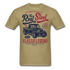 American Classic Car Legends Men Black White Regular Shirt S-6XL-Men's T-Shirt-get2shirts