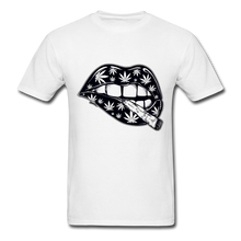 Load image into Gallery viewer, T-Shirt | cannabis lips - white