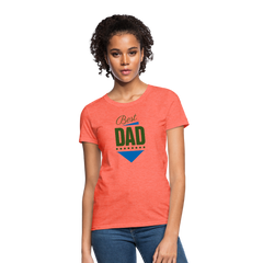 Best dad Women Top T-Shirt-Women's T-Shirt-get2shirts