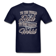 Best dad in the world | Men's T-Shirt - get2shirts