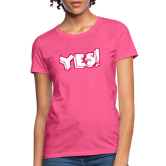 T-Shirt | say YES-Women's T-Shirt-get2shirts