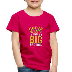 T-Shirt | guess what? i'm gonna be a big brother-Toddler Premium T-Shirt-get2shirts
