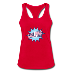 Tank Top | Girl Power-Women's Racerback Tank Top-get2shirts