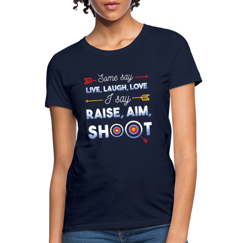 T-Shirt | Raise Aim Shoot-Women's T-Shirt-get2shirts