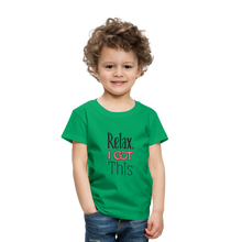 Load image into Gallery viewer, Relax i got this | Toddler Premium T-Shirt - kelly green