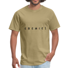 ENEMIES Rapper | Men's T-Shirt-Men's T-Shirt-get2shirts