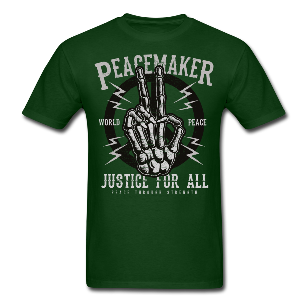 Peacemaker - Justice For All | Men's T-Shirt-Men's T-Shirt-get2shirts