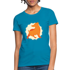 T-Shirt | Yoga Dog-Women's T-Shirt-get2shirts