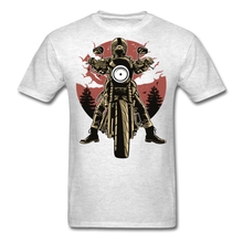 Load image into Gallery viewer, T-Shirt | Motorcycle born to ride - light heather grey