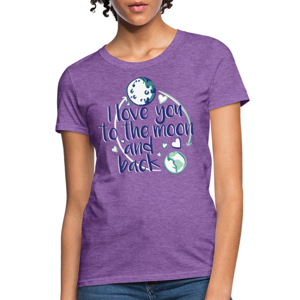 T-Shirt | I love you to the moon and back - get2shirts