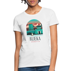 T-Shirt | Travel Rijeka Croatia-Women's T-Shirt-get2shirts