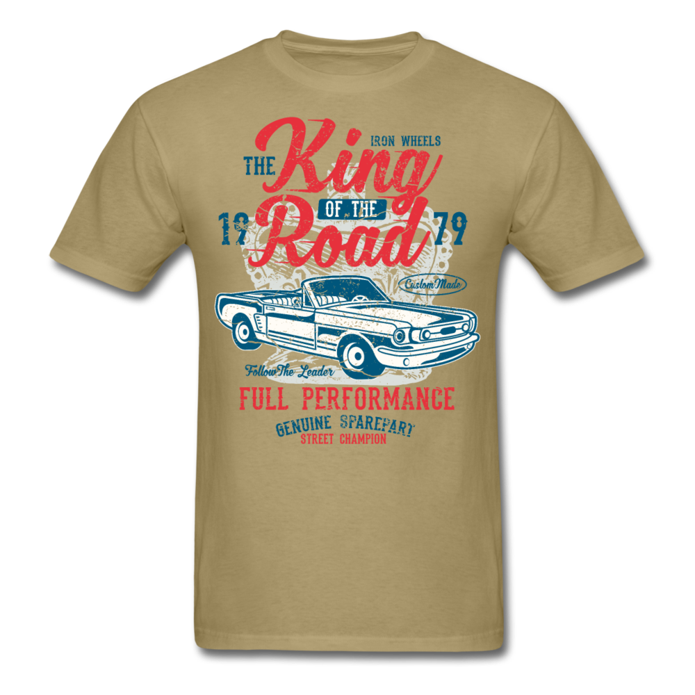 Classic Mustang king of the road | Men's T-Shirt-Men's T-Shirt-get2shirts