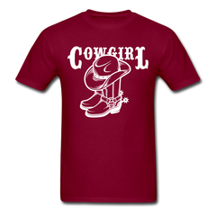 American Cowgirl Western Shirt Southern Rodeo Tradit Country Gift Tee-Men's T-Shirt-get2shirts