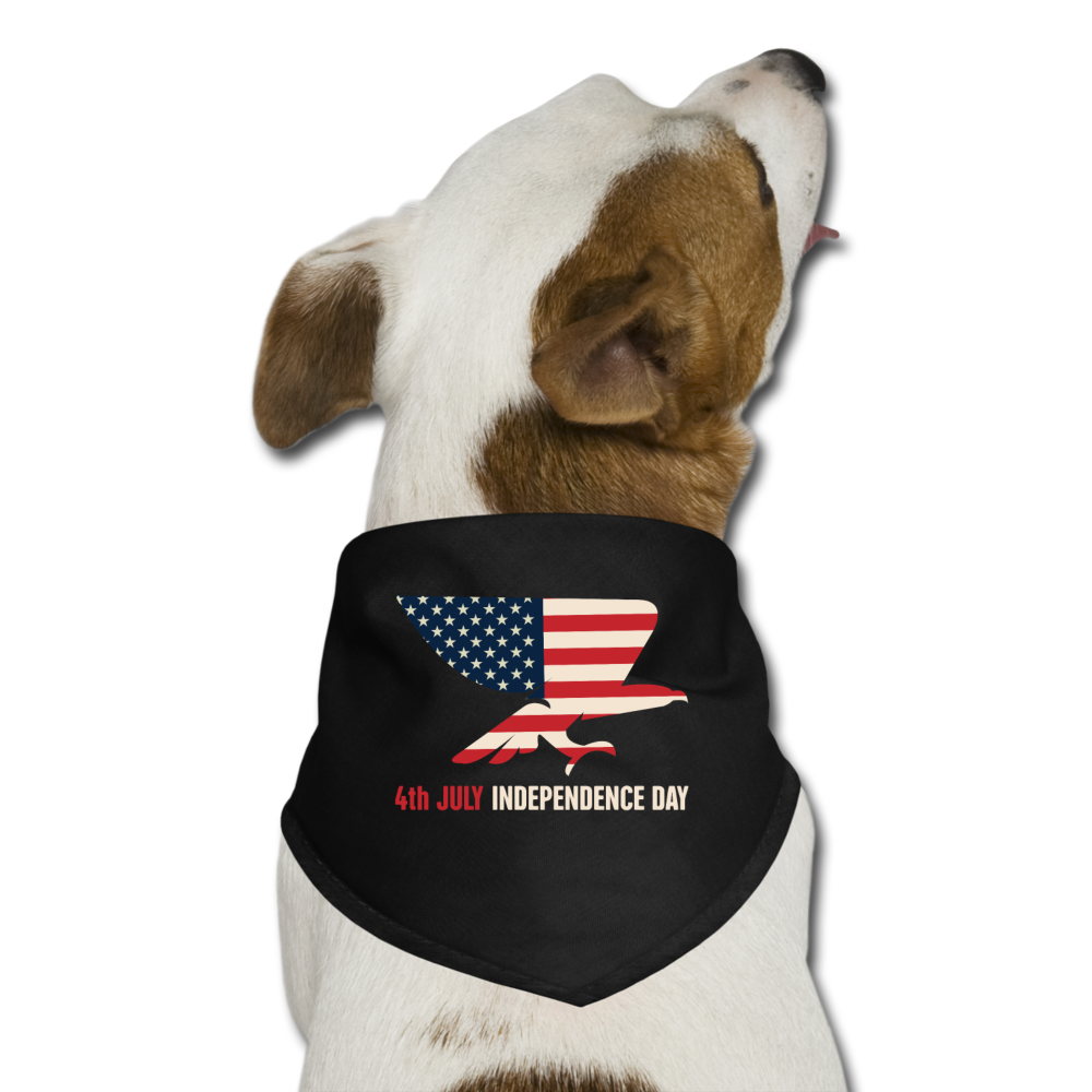 Dog Bandana | 4th JULY USA-Dog Bandana-get2shirts