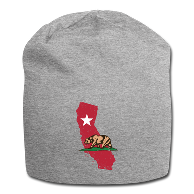 California State | Jersey Beanie - heather gray