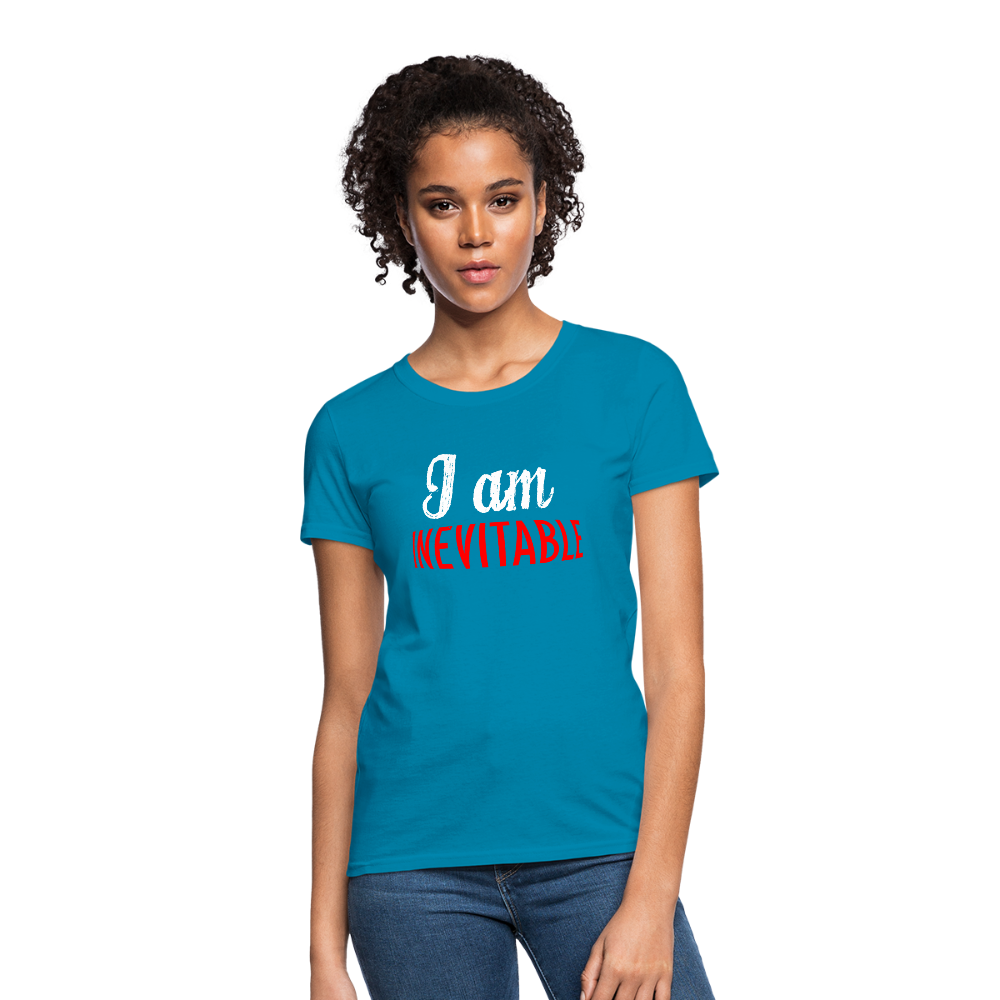 T-Shirt | I am inevitable-Women's T-Shirt-get2shirts