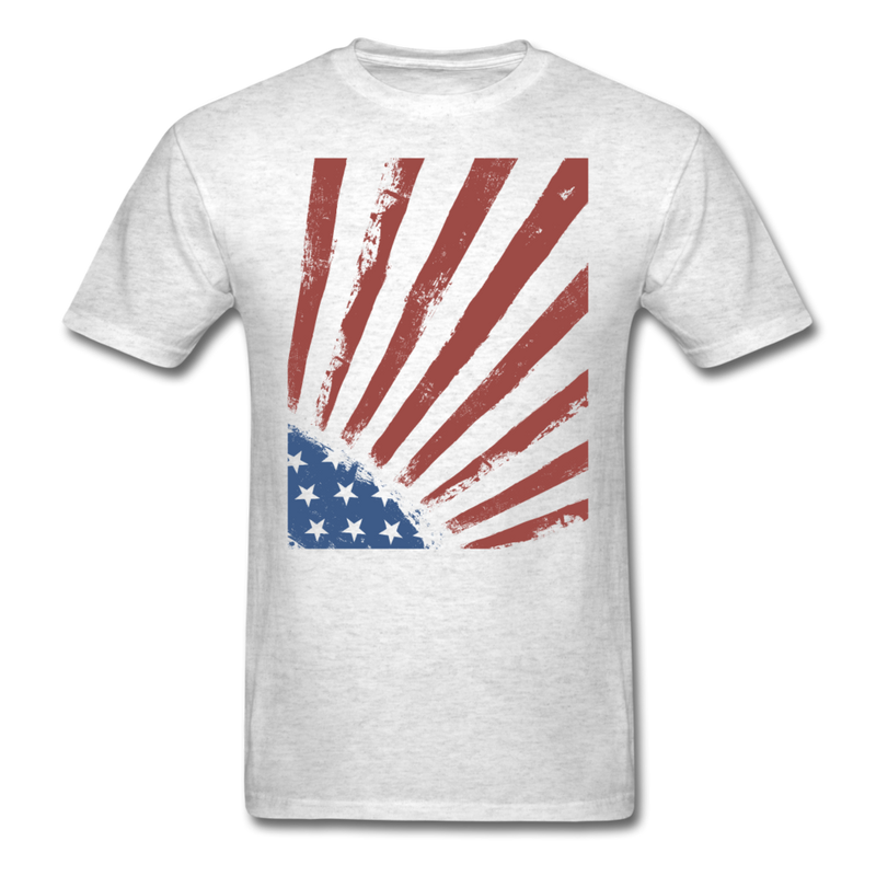 USA Stars and Stripes | Men's T-Shirt-Men's T-Shirt-get2shirts