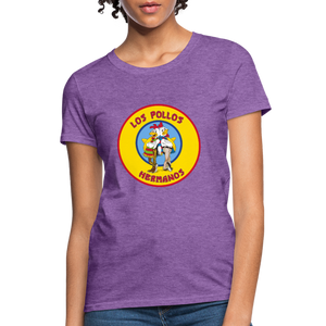 T-Shirt | Los Pollos Hermanos - purple heather