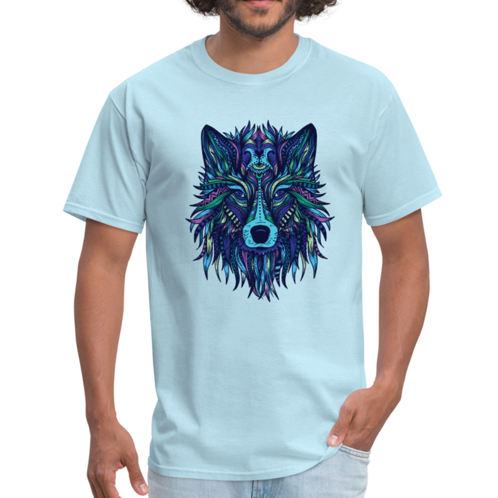 Wolf abstract | Men's T-Shirt-Men's T-Shirt-get2shirts