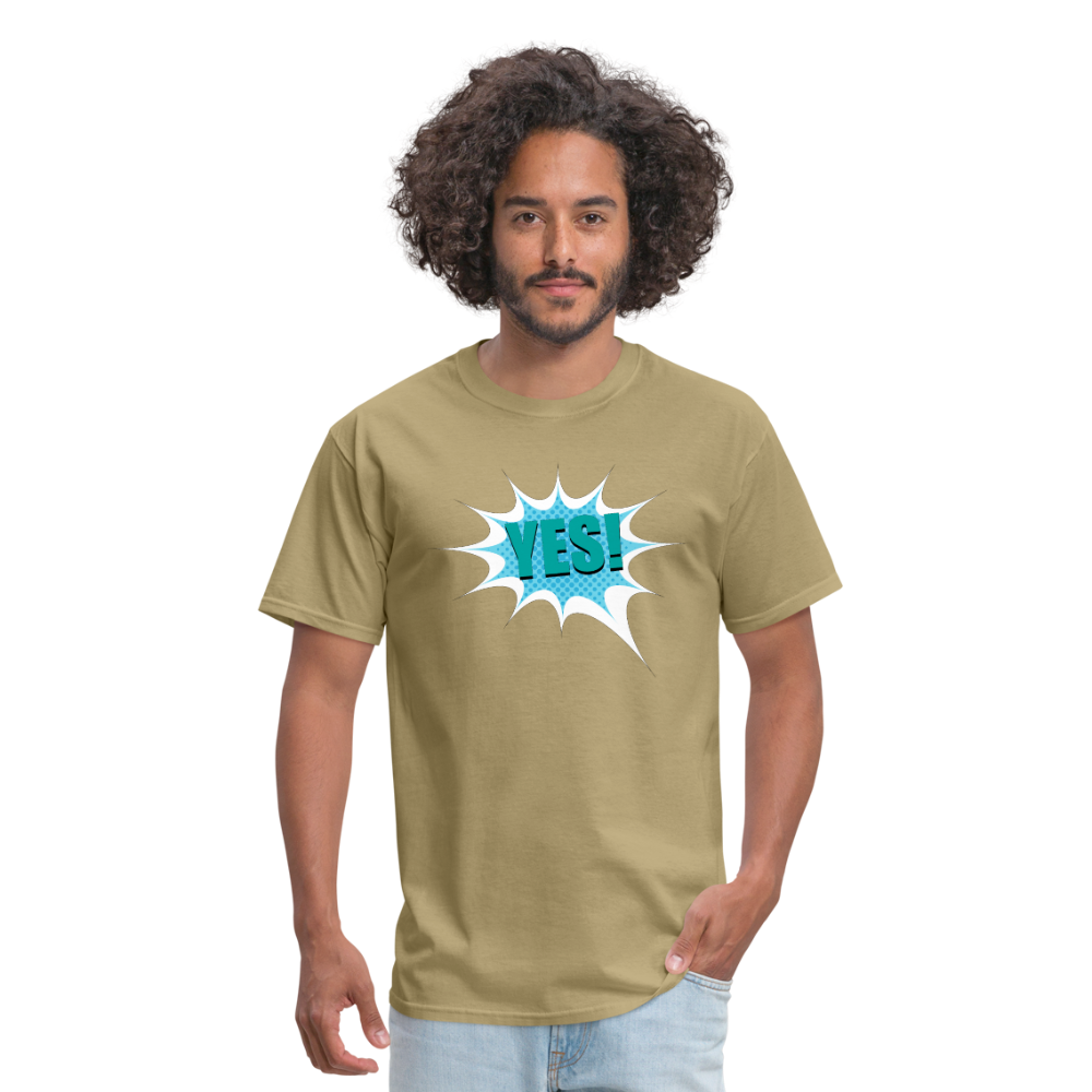 YES | Men's T-Shirt - get2shirts
