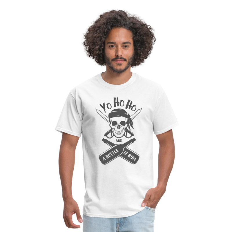 Pirate & RUMMen's T-Shirt-Men's T-Shirt-get2shirts