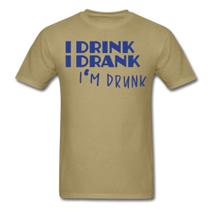 drink & drunk | Men's T-Shirt - get2shirts