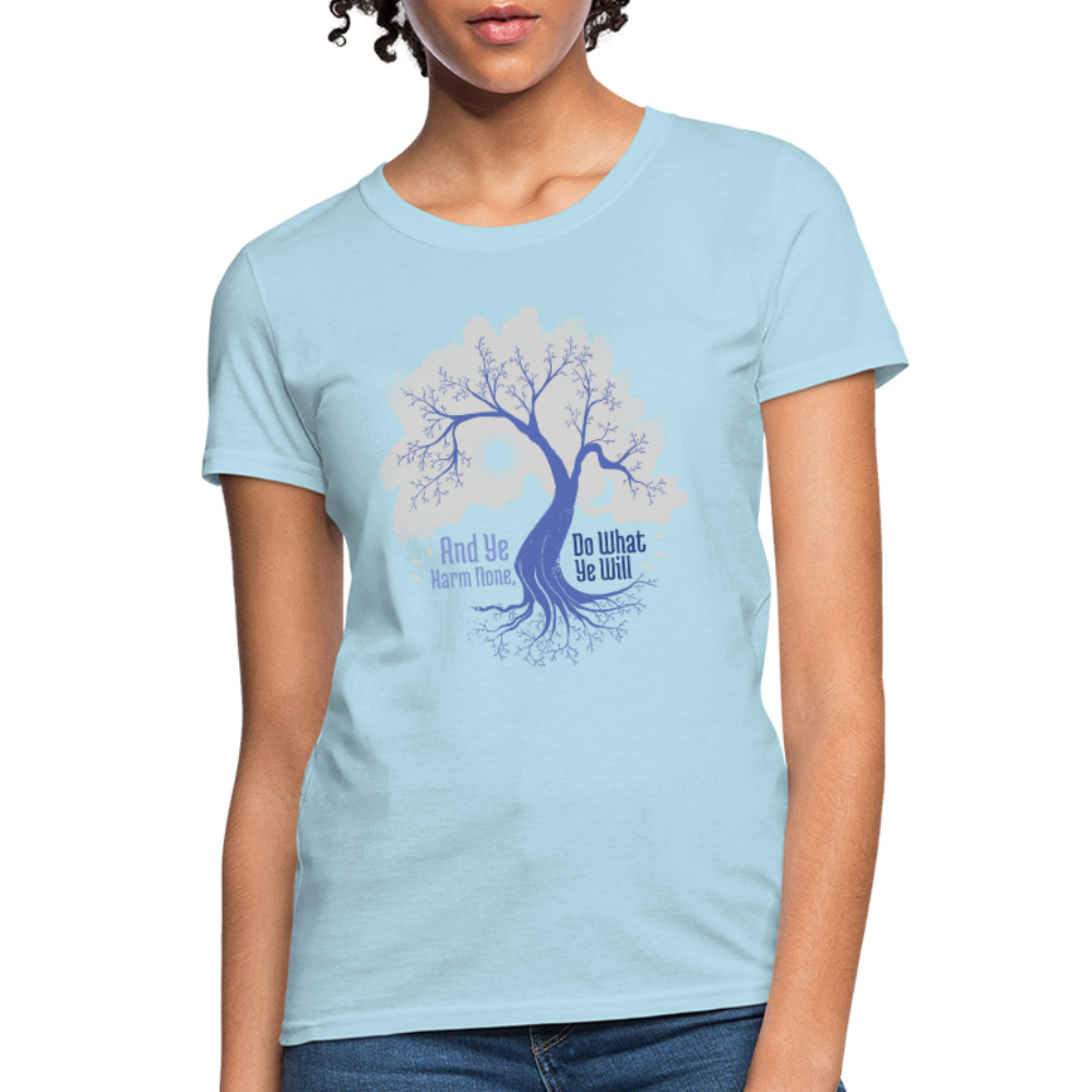 T-Shirt | tree sun & moon-Women's T-Shirt-get2shirts