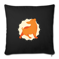 "Pillow | Yoga Dog-Throw Pillow Cover 18"" x 18""-get2shirts"