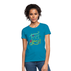 T-Shirt | Trust yourself-Women's T-Shirt-get2shirts