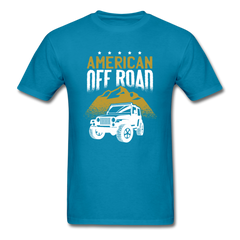 American Off Road King Men Black White Regular Shirt S-6XL-Men's T-Shirt-get2shirts